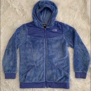 North warm fleece hoodie